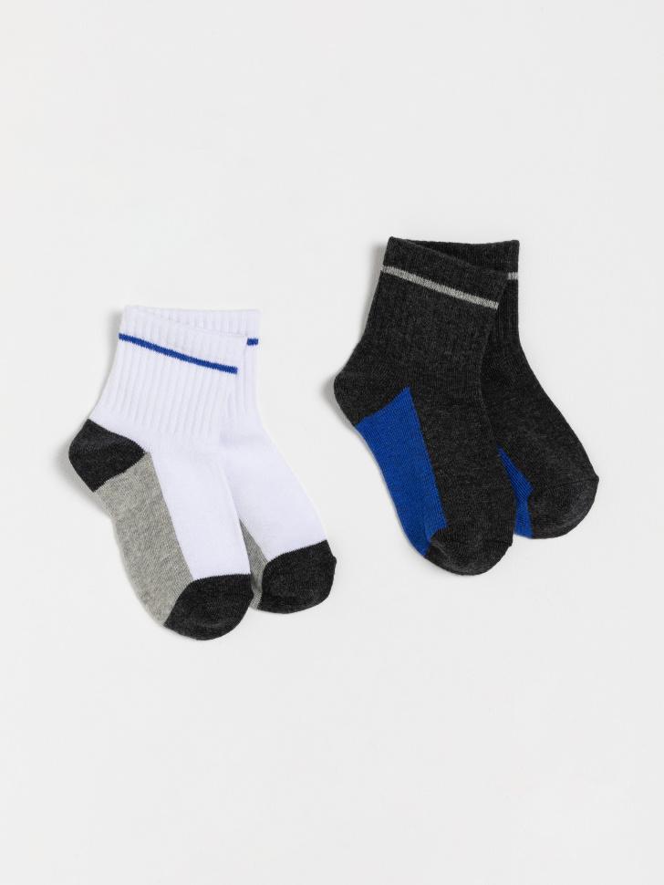 носки детские в наборе (принт, 22-23)
