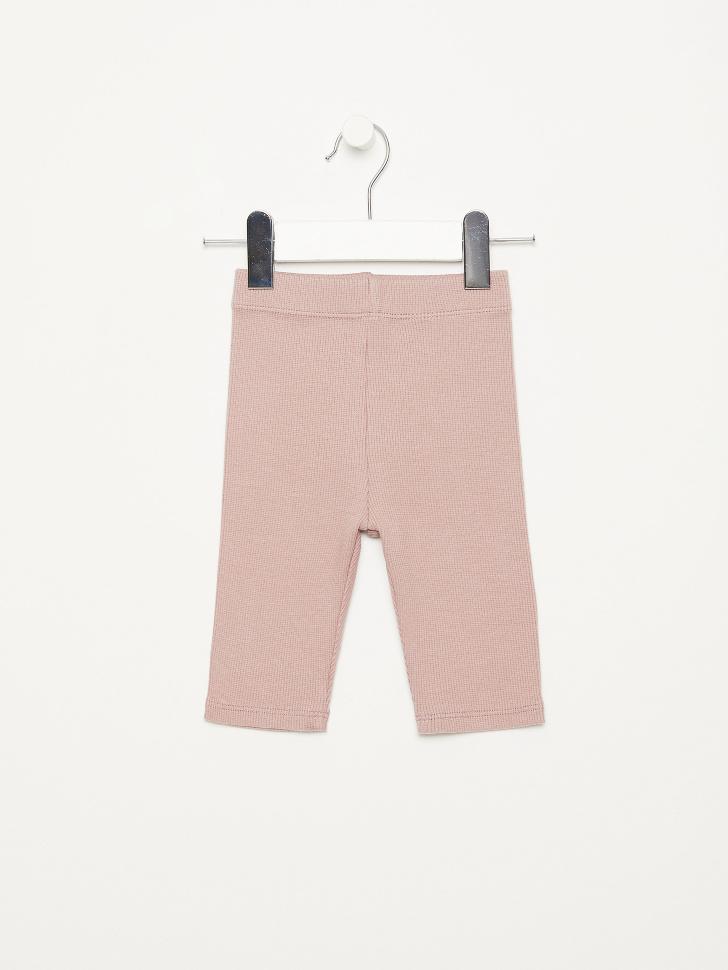 SELA Велосипедки в рубчик для девочек (розовый, 104/ 4-5 YEARS)