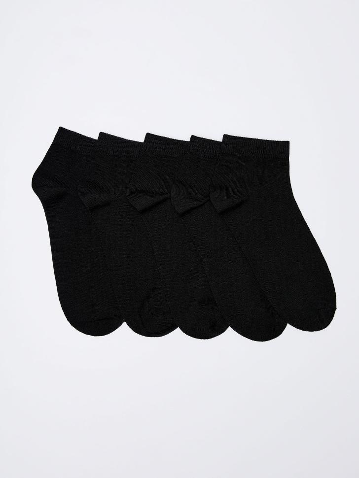 набор носков для женщин (черный, 25-27)