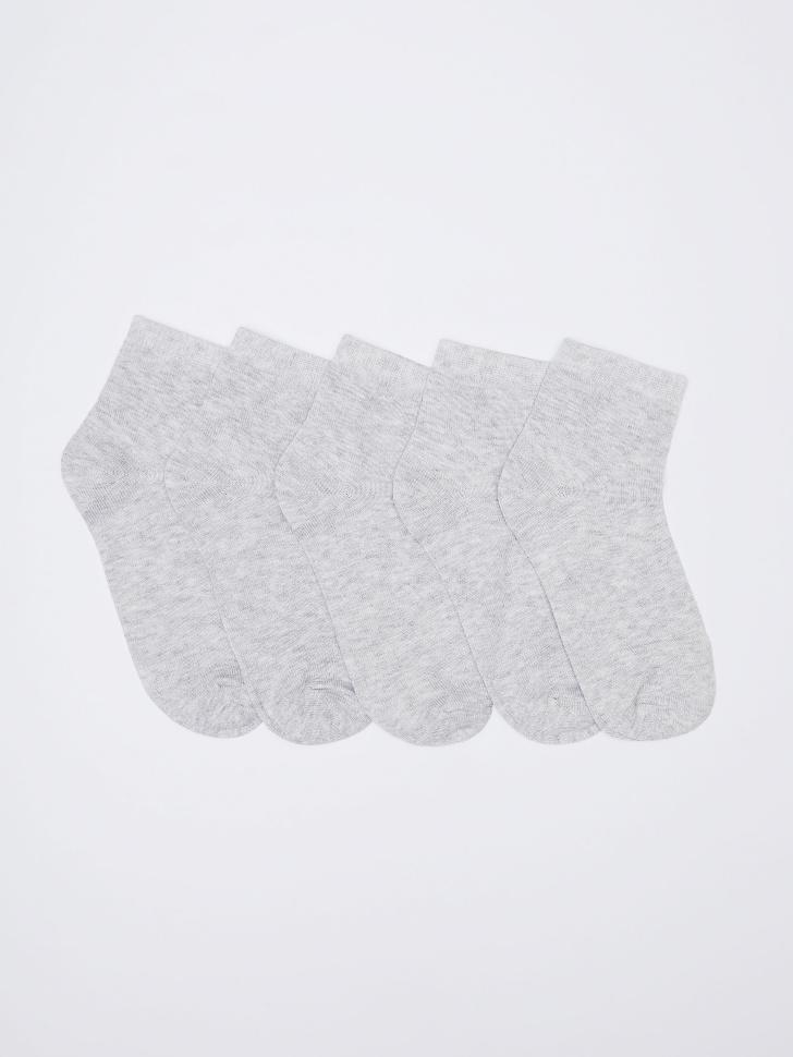 набор носков для женщин (серый, 23-25)