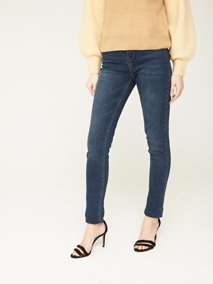 Купить со скидкой брюки джинсовые (синий, W34)