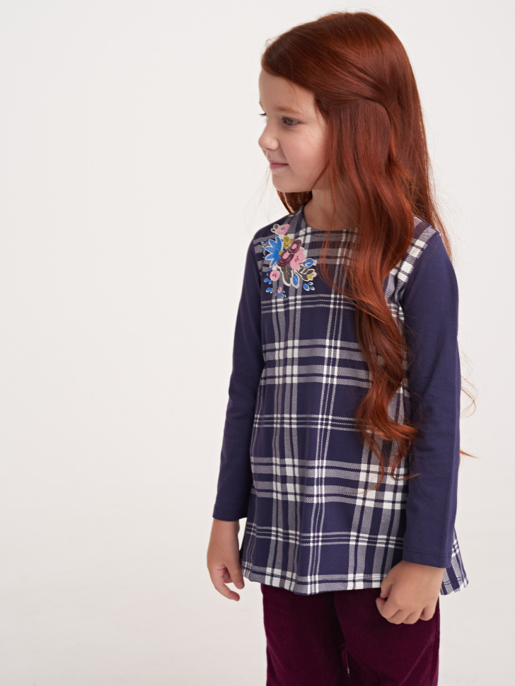 Купить со скидкой джемпер для девочек (фиолетовый, 3)