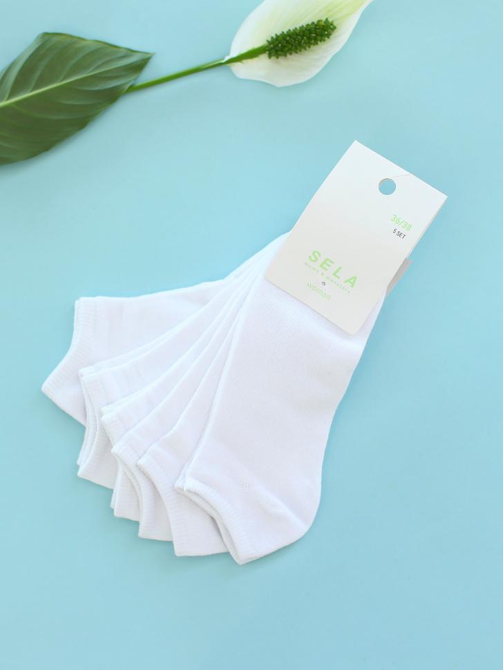 набор носков для женщин (белый, 25-27)