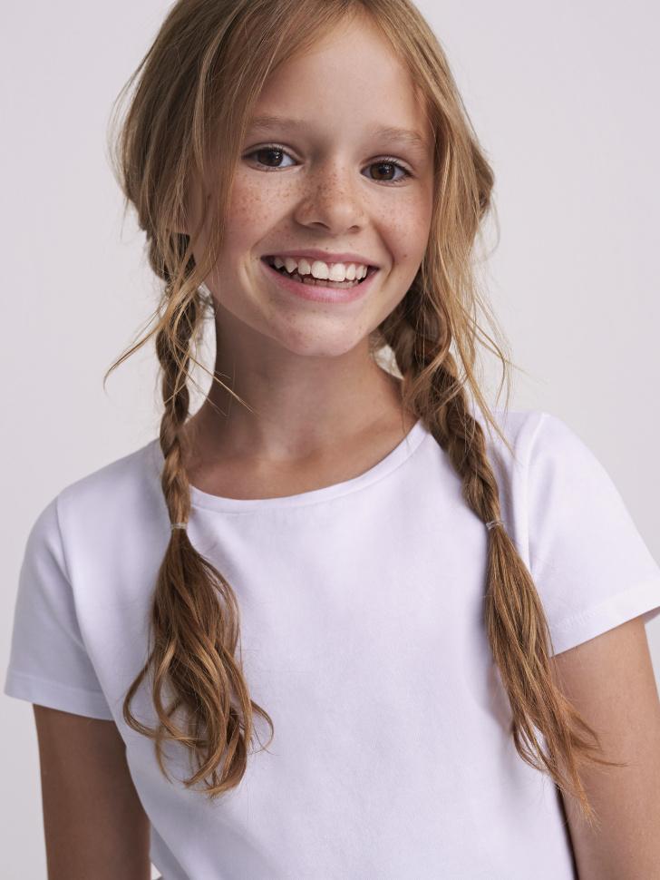 Купить со скидкой Фуфайка для девочки (белый, 14)