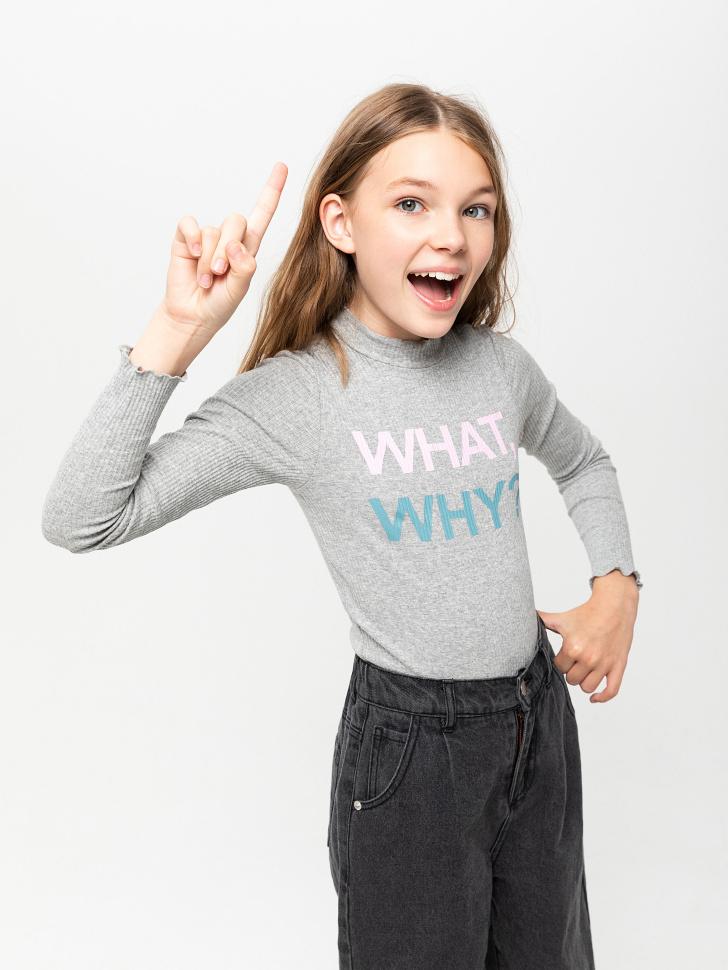 боди для девочек (серый, 146/ 11-12 YEARS)