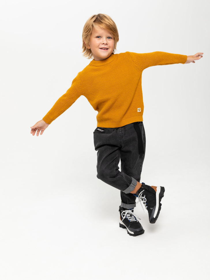 джемпер для мальчиков (желтый, 104/ 4-5 YEARS)