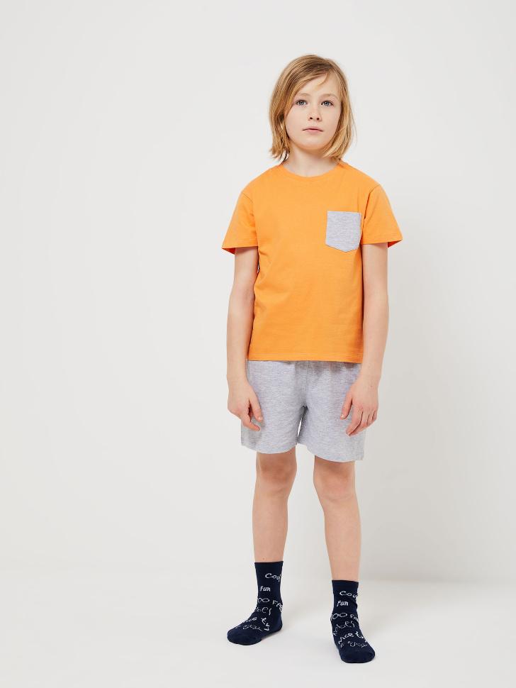 Пижама для мальчиков (принт, 134-140 (10-11 YEARS))