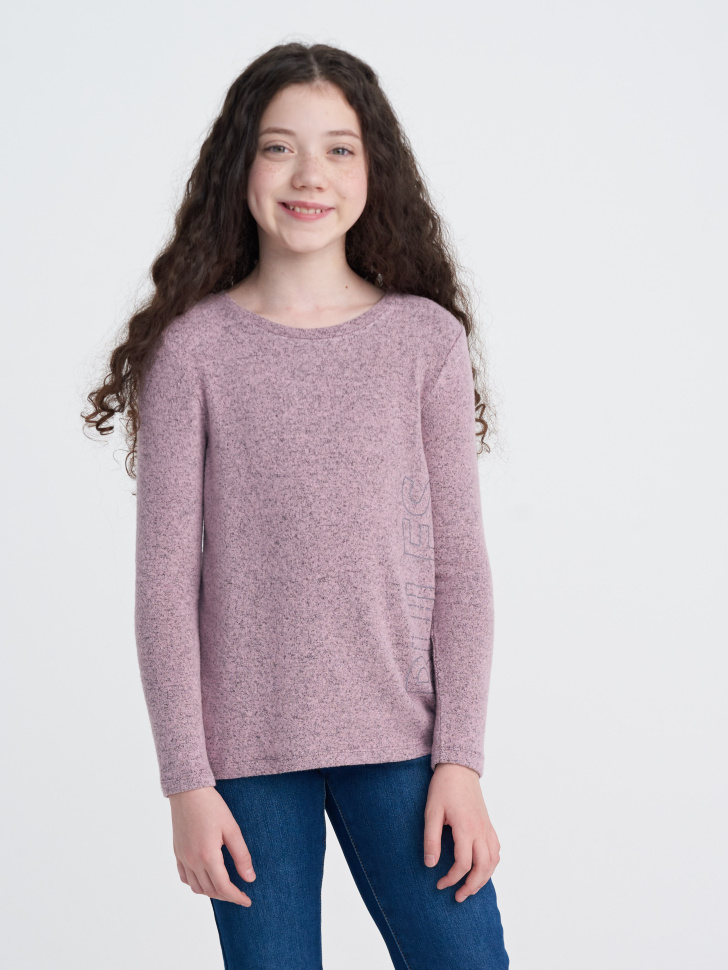 Купить со скидкой Джемпер для девочки (розовый, 10)