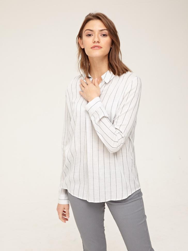 Купить со скидкой Блузка (серый, XS)