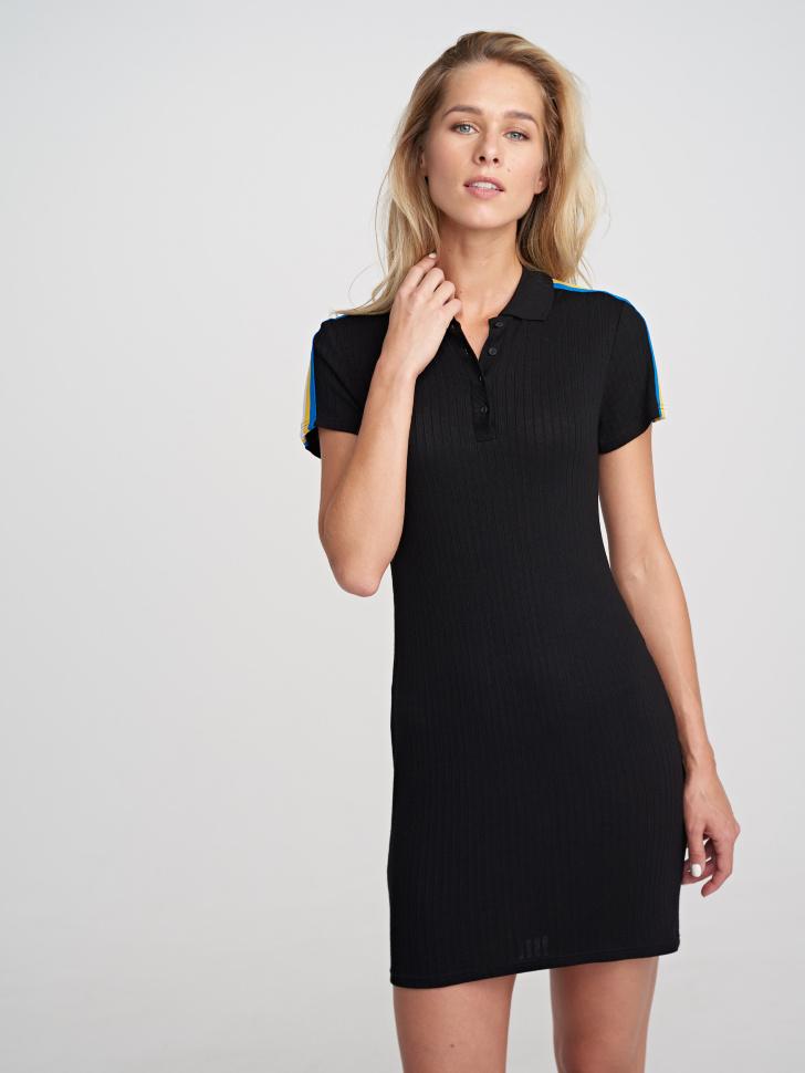 Платье (черный, M)