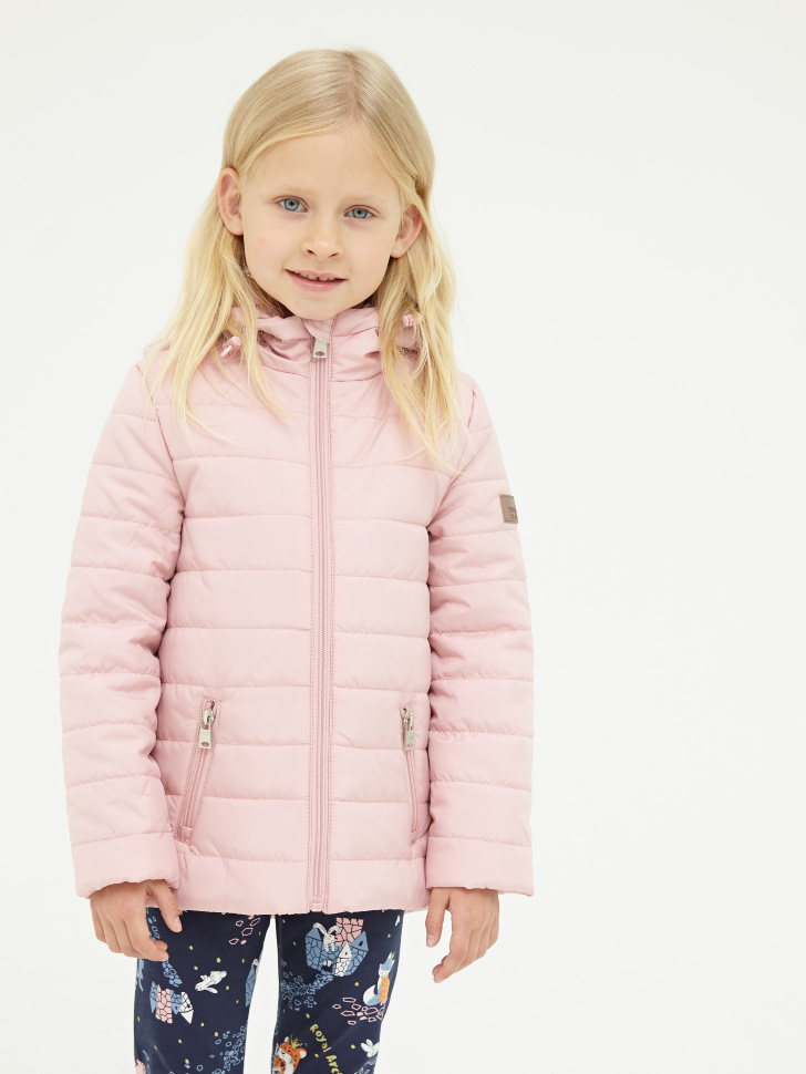 Купить со скидкой Куртка для девочек (розовый, 3)