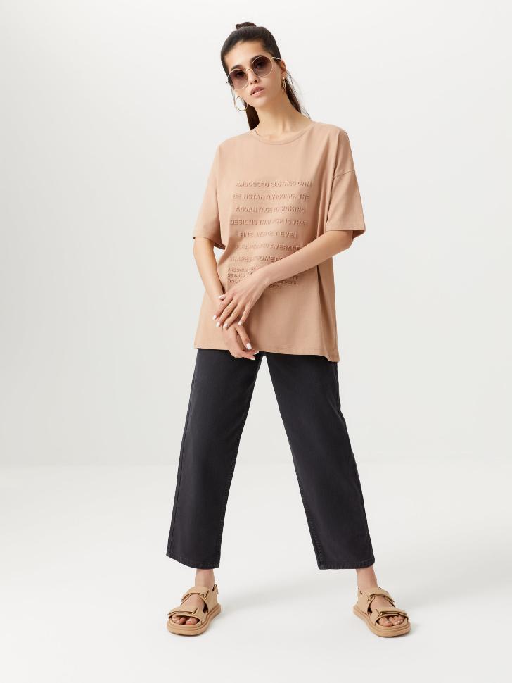 Прямые укороченные джинсы (серый, XXS)