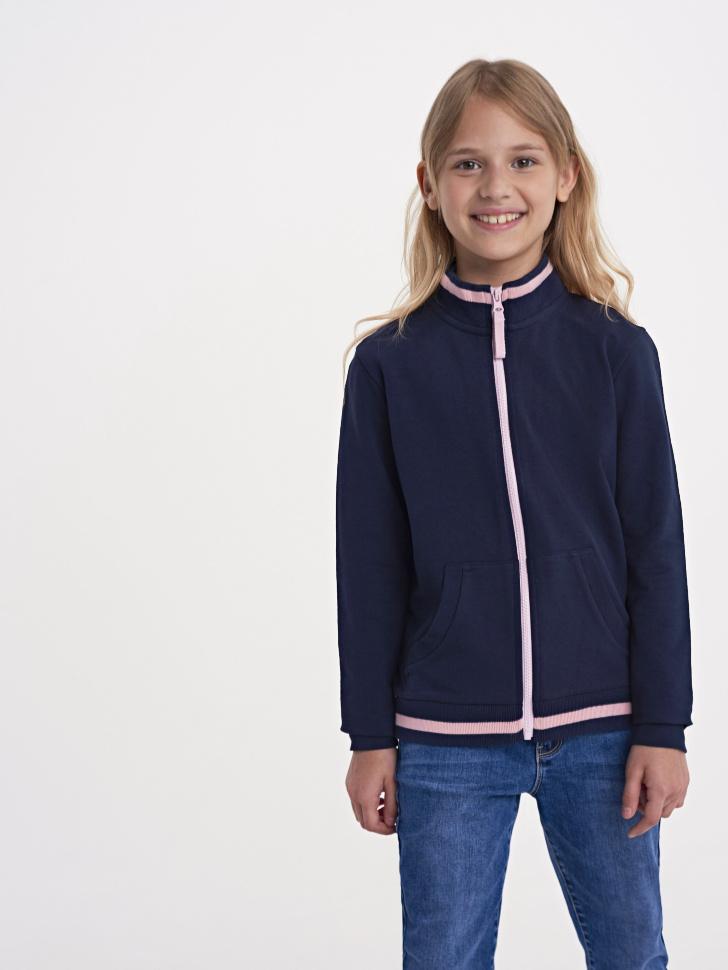 Купить со скидкой Куртка для девочки (синий, 8)