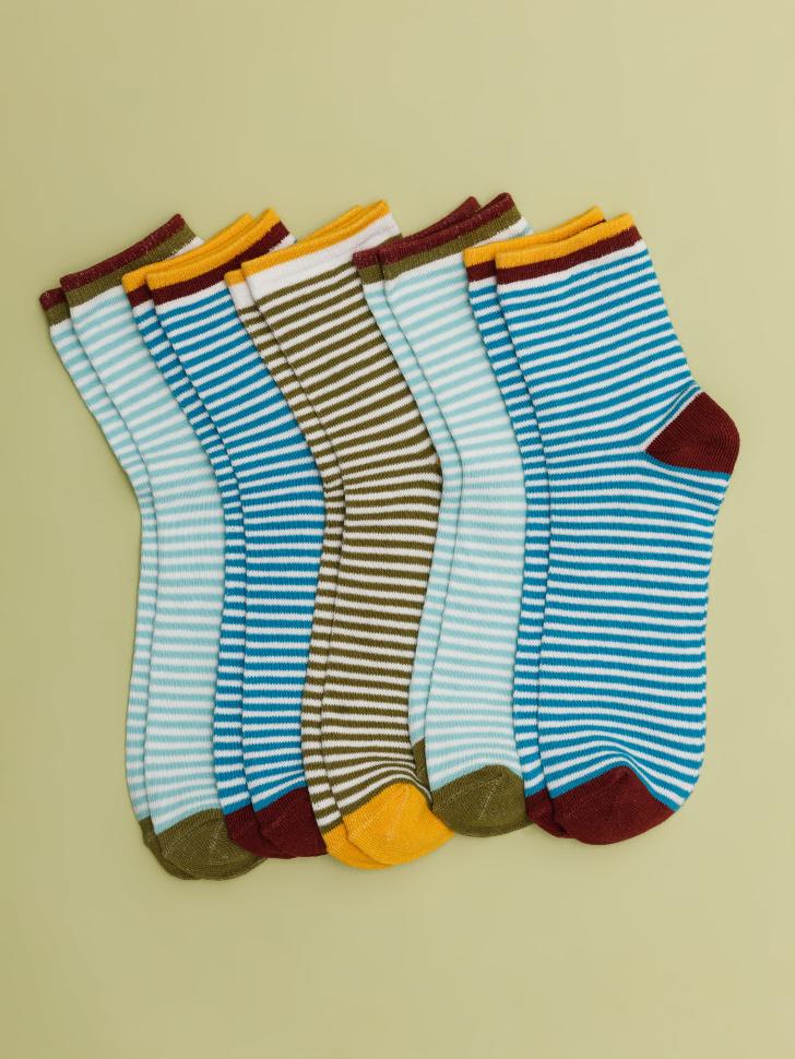 набор носков для мальчиков (принт, 16-18)