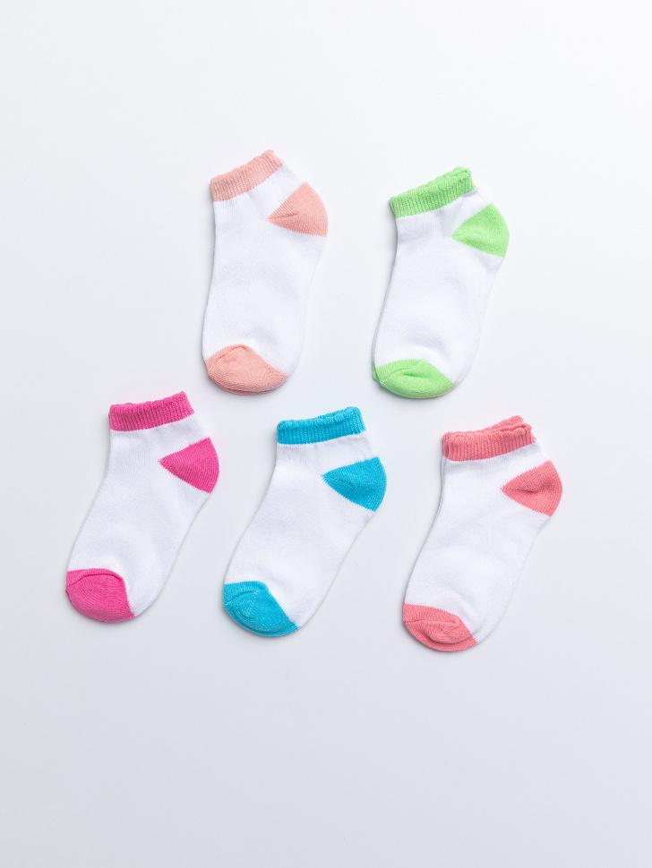 SELA набор носков для девочек (принт, 16-18)