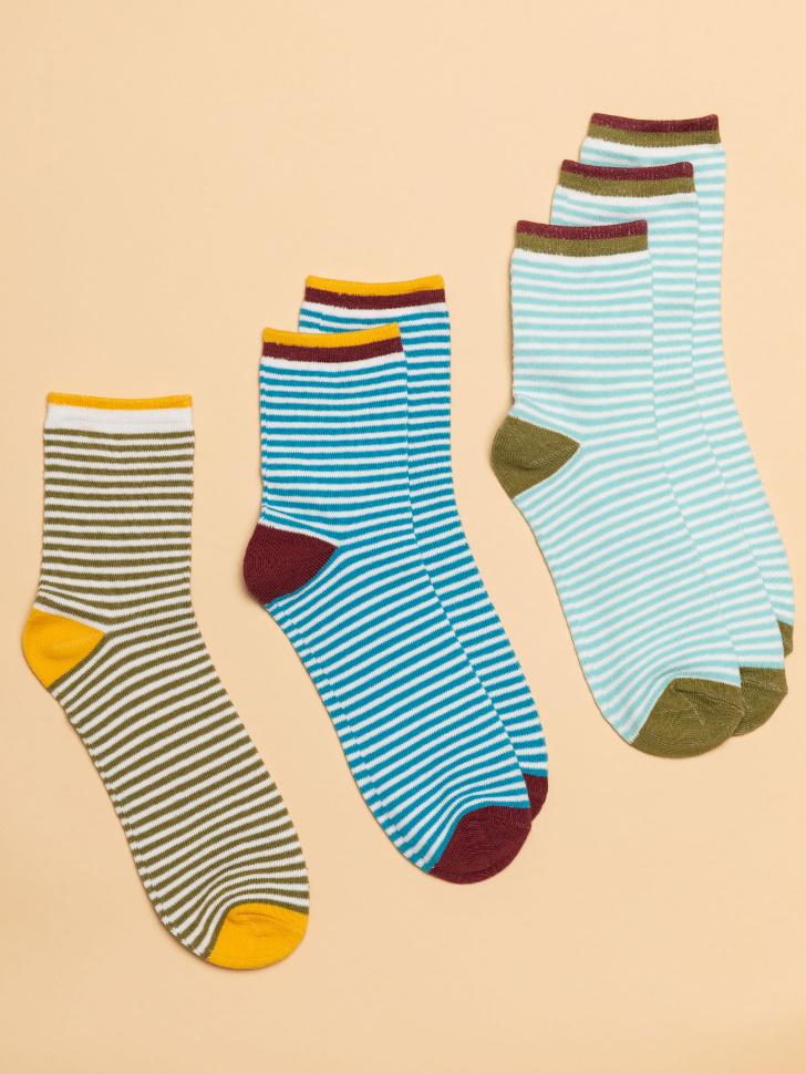 Набор носков для мальчиков (принт, 22-23)