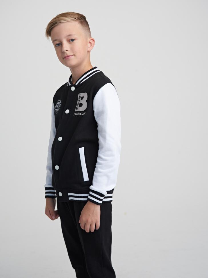 Купить со скидкой Куртка для мальчика (черный, 12)