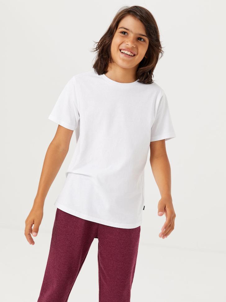 набор базовых футболок для мальчиков (2 шт.) (белый, 158/ 13-14 YEARS)