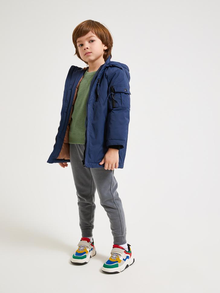 куртка для мальчиков (синий, 98/ 3-4 YEARS)