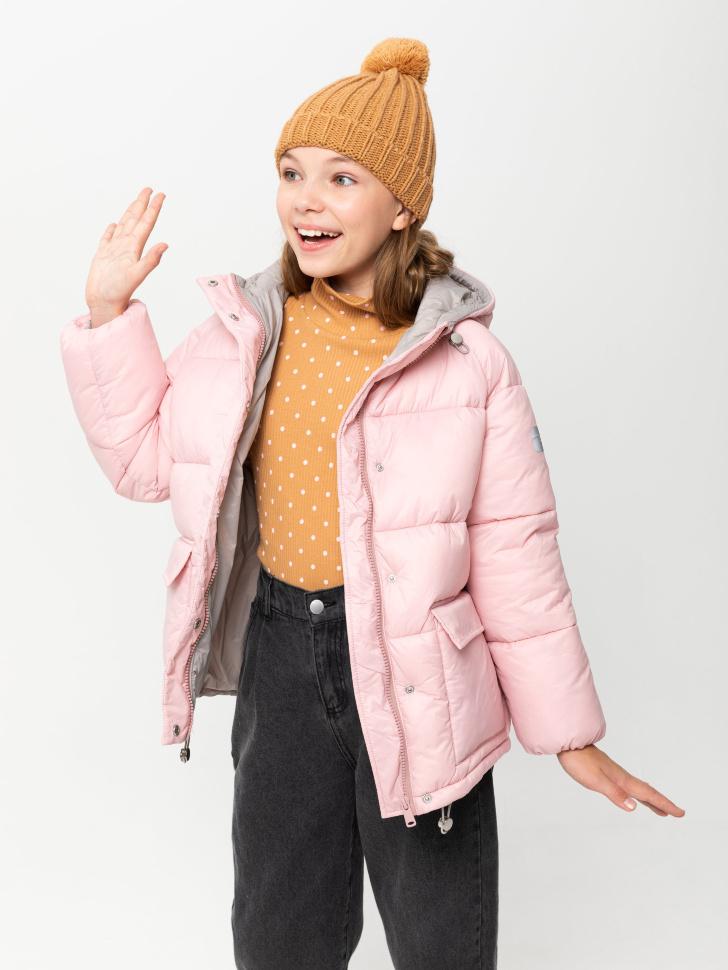 куртка для девочек (розовый, 134/ 9-10 YEARS)