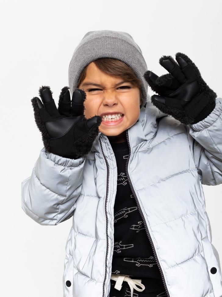 перчатки для мальчиков (черный, 3 - 4 YEARS)
