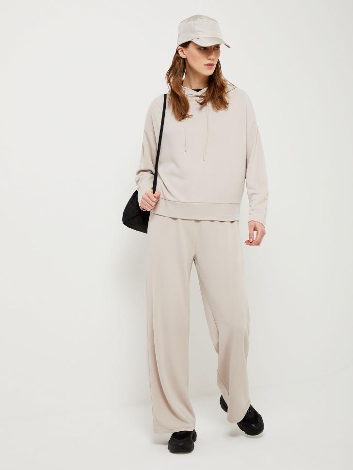 SELA Широкие брюки из модала (белый, L)