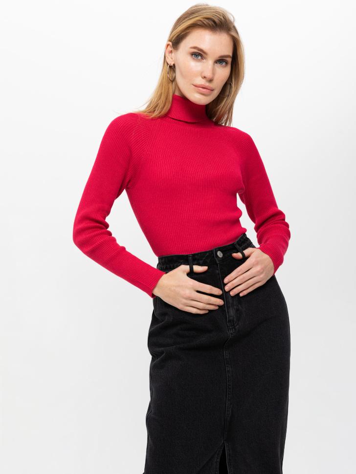 свитер женский (малиновый, L)
