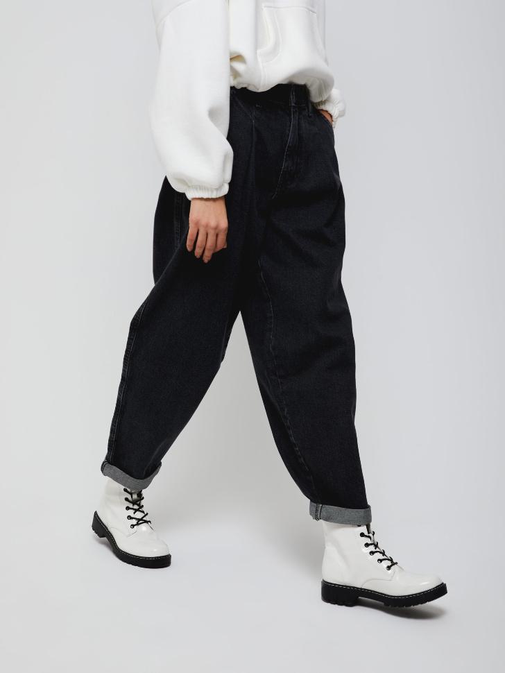 брюки джинсовые женские (серый, XXS)