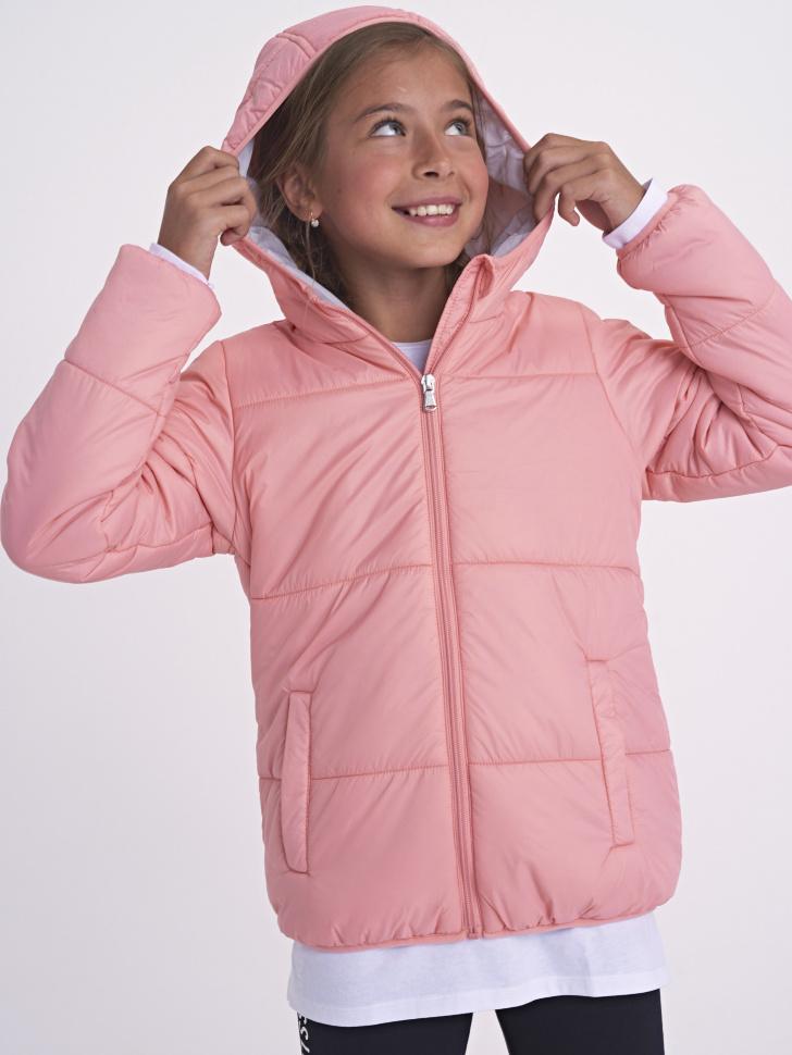 Купить со скидкой Куртка для девочек (розовый, 12)