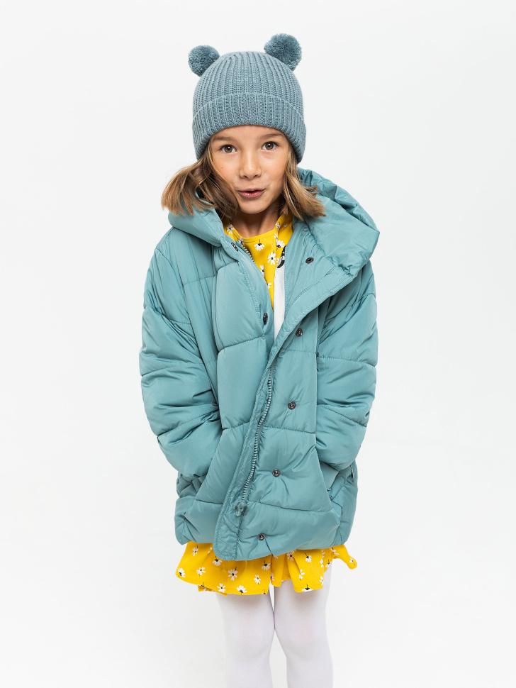 куртка для девочек (бирюзовый, 116/ 6-7 YEARS)