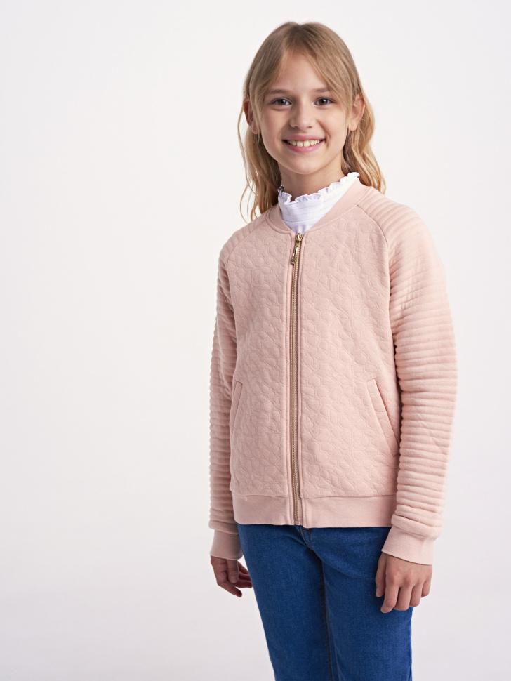 Купить со скидкой Куртка для девочки (розовый, 11)