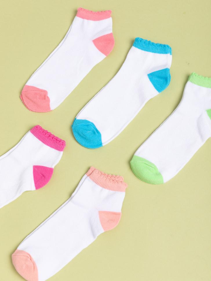 SELA набор носков для девочек (принт, 22-23)
