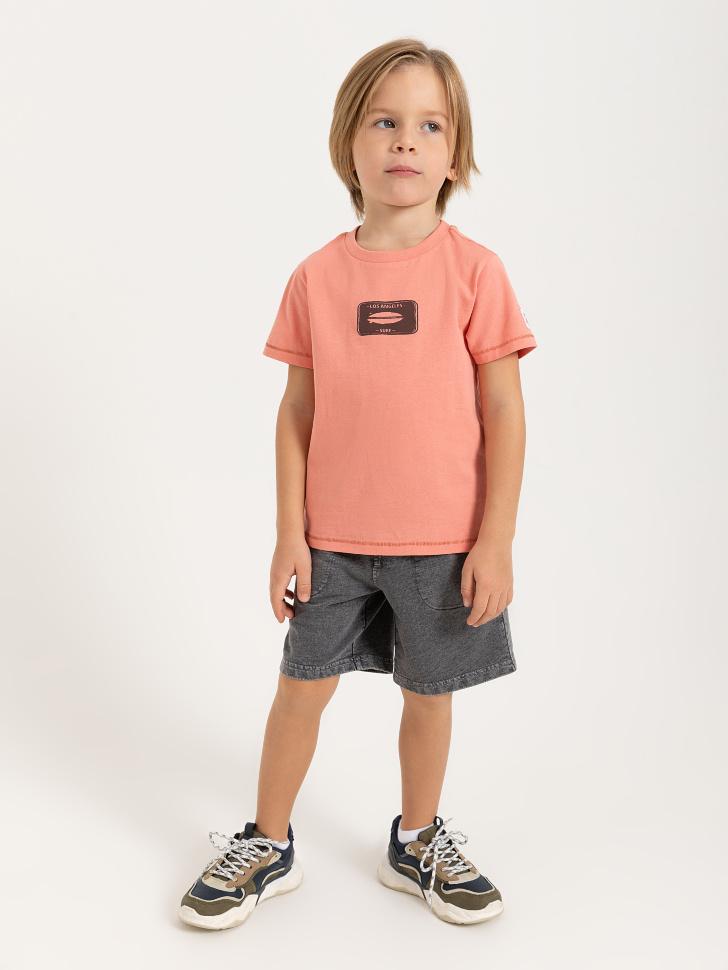SELA шорты для мальчиков (серый, 98/ 3-4 YEARS)
