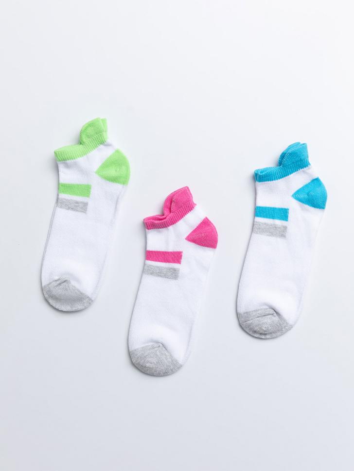 SELA набор носков для девочек (принт, 23-25)