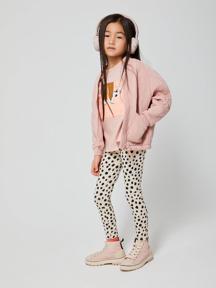 куртка для девочек (розовый, 104/ 4-5 YEARS)