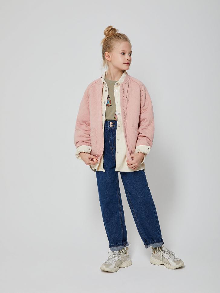 куртка для девочек (розовый, 146/ 11-12 YEARS)