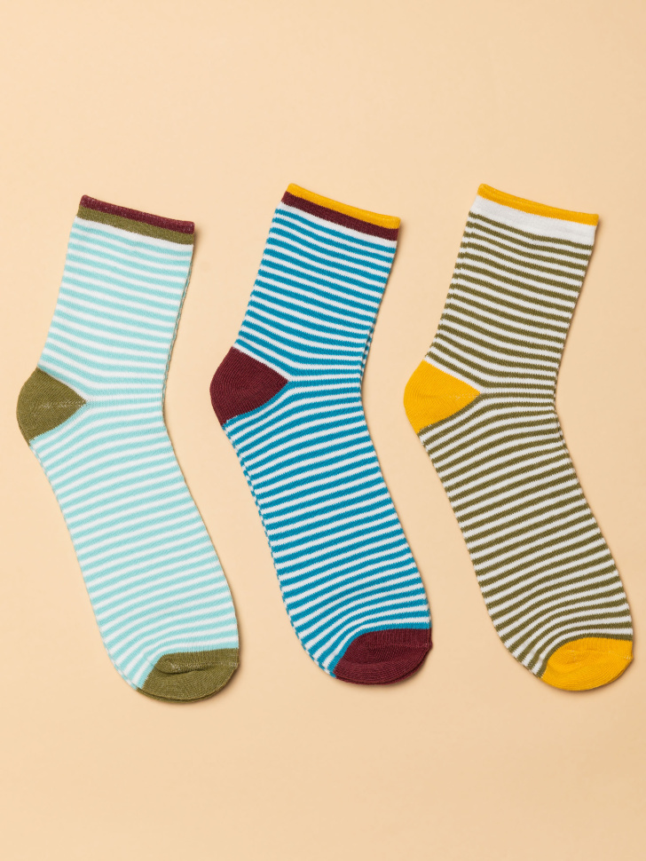 набор носков для мальчиков (принт, 20-22)