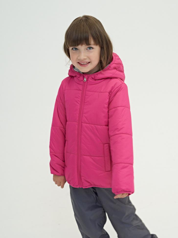 Купить со скидкой Куртка для девочек (фиолетовый, 6)