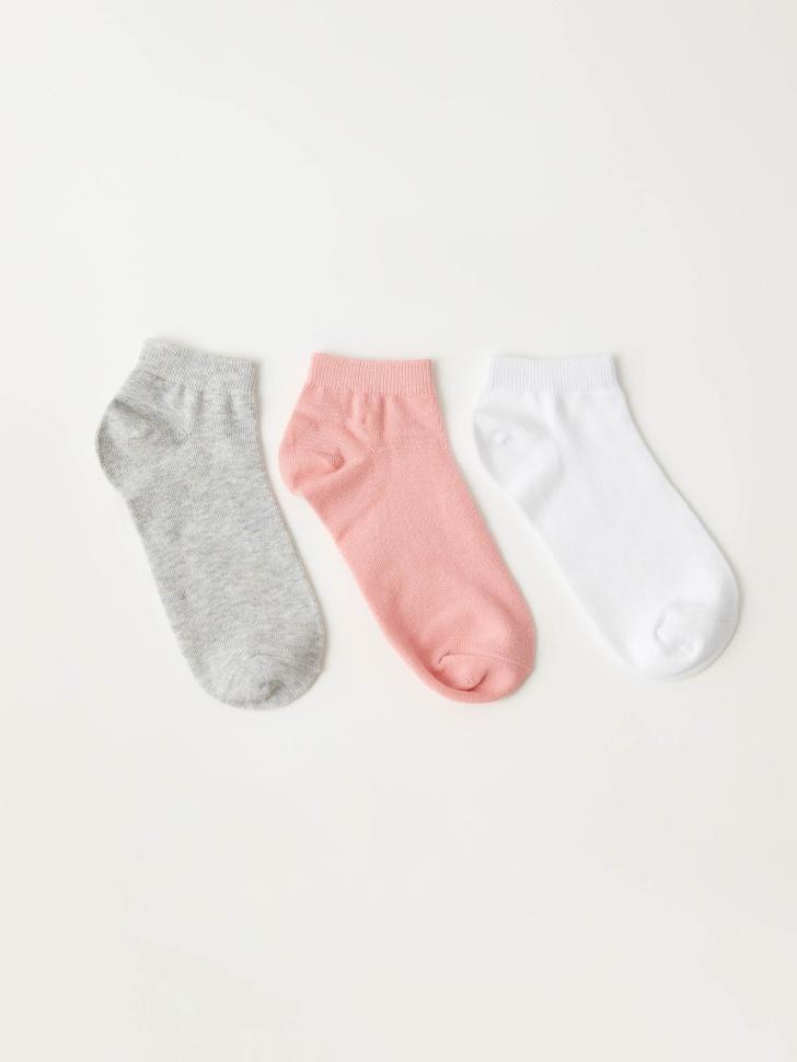 Набор из 3 пар носков (принт, 25-27)