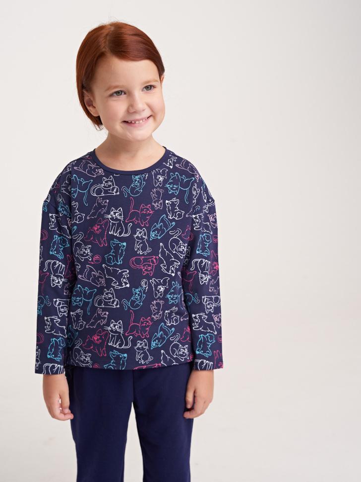 Купить со скидкой Джемпер для девочки (фиолетовый, 4)