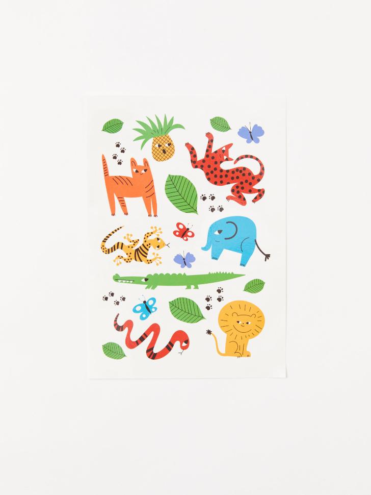 переводные картинки для тела детские
