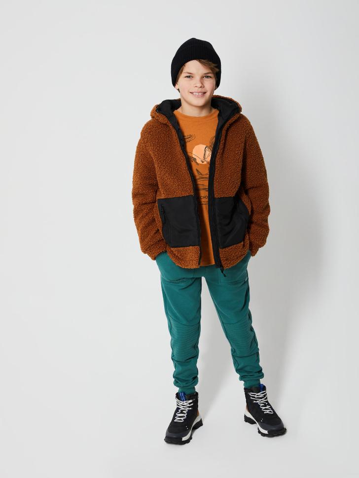 SELA Базовые джоггеры для мальчиков (зеленый, 152/ 12-13 YEARS)