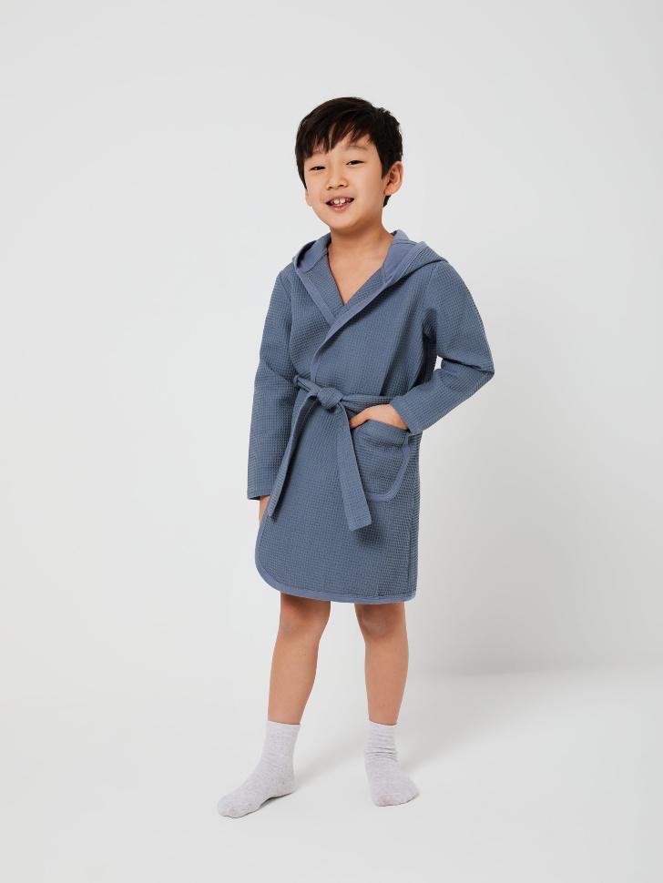 халат для мальчиков (серый, 92-98 (2-3 YEARS))