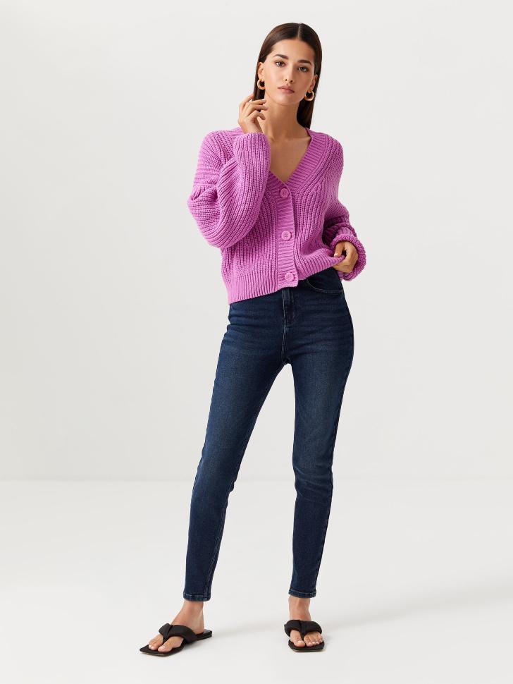 Джинсы Skinny fit (синий, M)