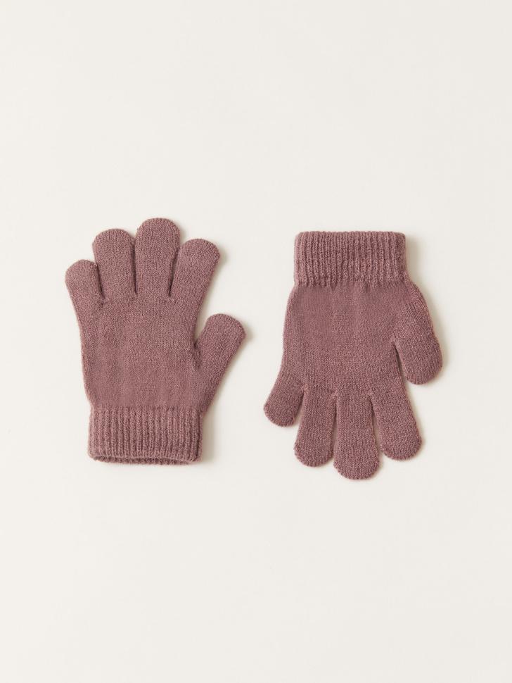 Базовые перчатки для девочек (сиреневый, 3 - 4 ГОДА)
