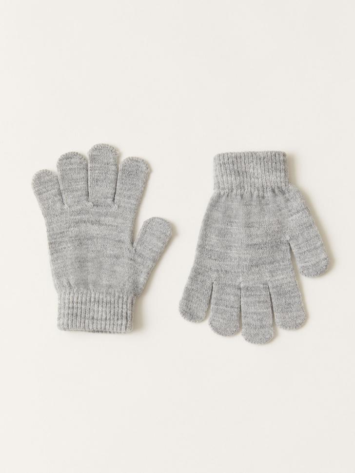 Базовые перчатки для девочек (серый, 9 - 12 ЛЕТ)