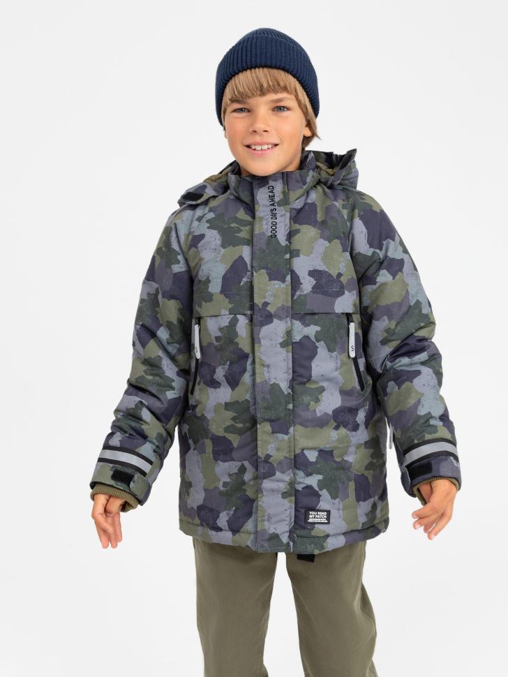 куртка для мальчиков (принт, 122/ 7-8 YEARS)