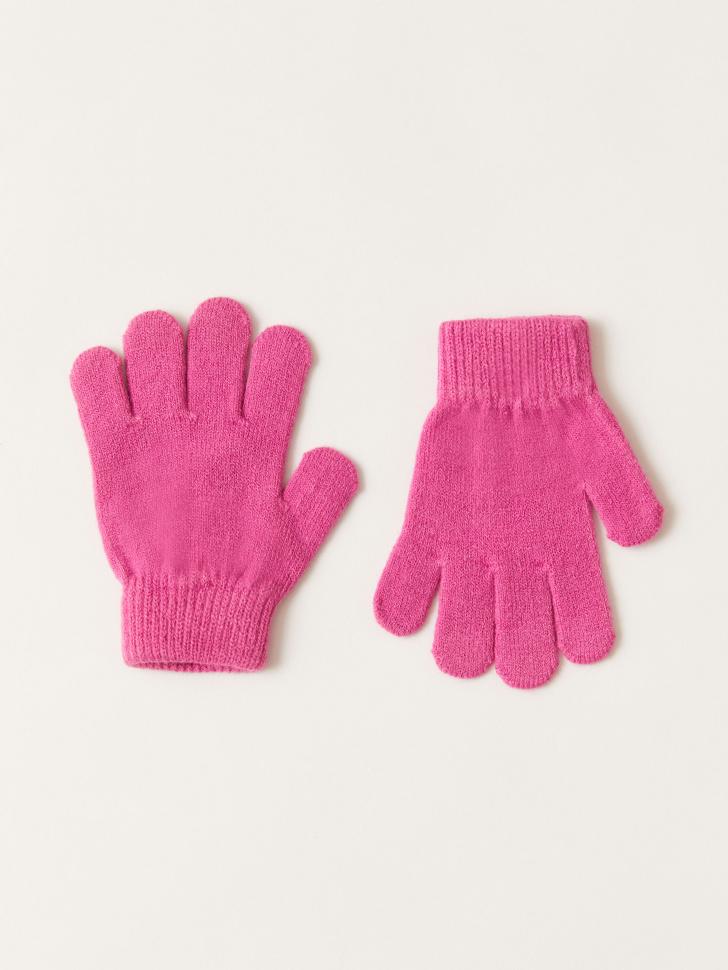 Базовые перчатки для девочек (розовый, 5 - 8 ЛЕТ)