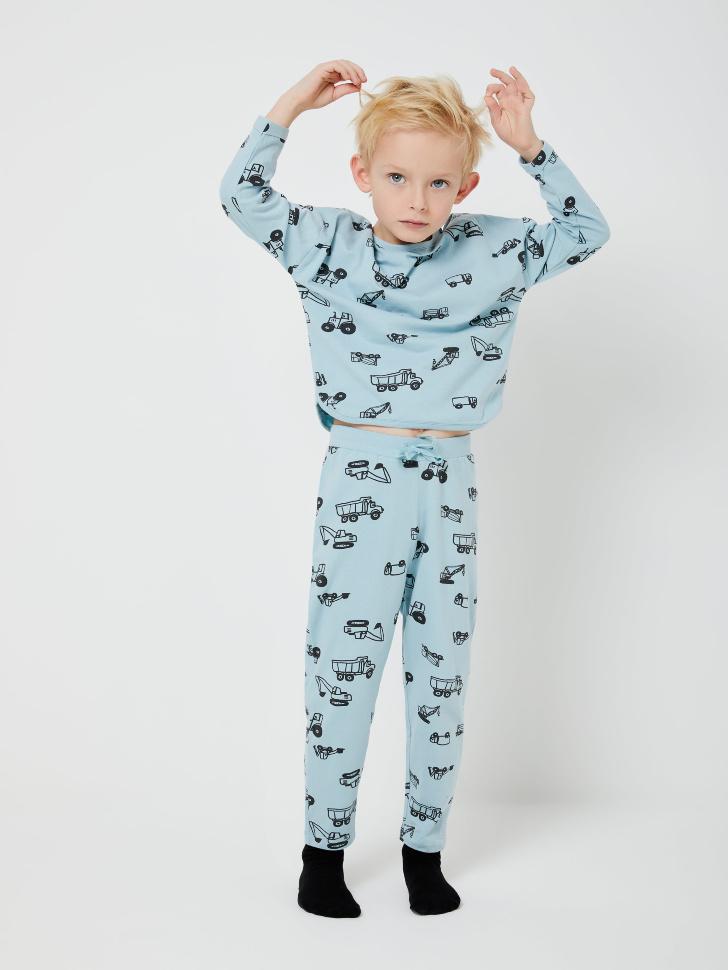 Пижама для мальчиков (голубой, 104-110 (4-5 YEARS))