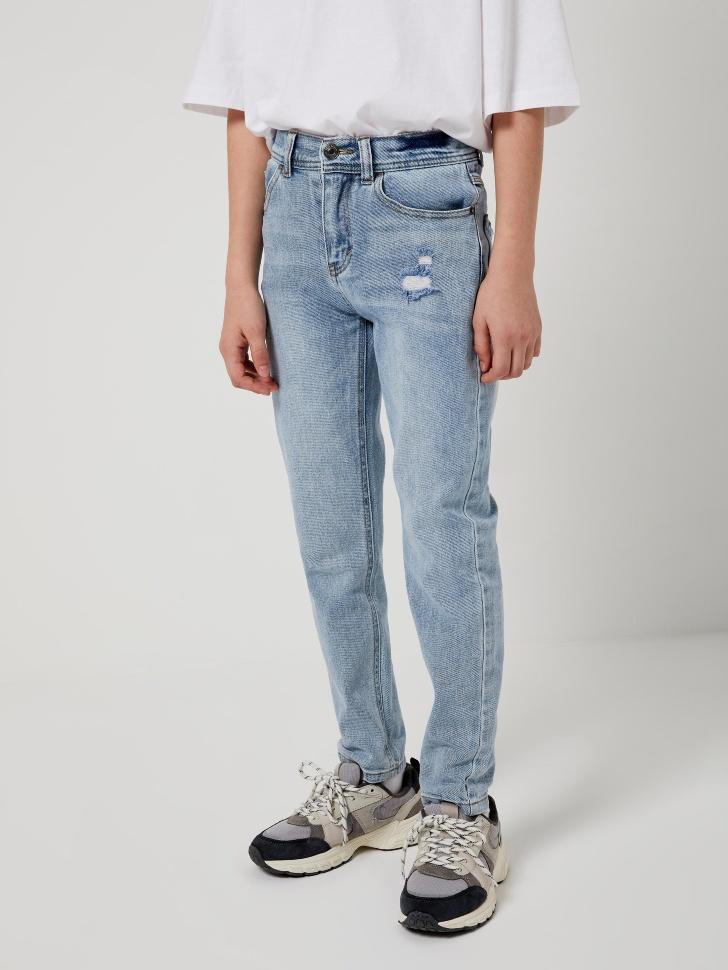 Прямые джинсы (синий, 122/ 7-8 YEARS)